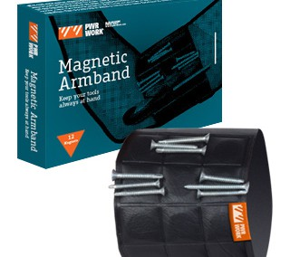 MAGNETIC ARMBAND ™ PWR WORK ®