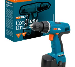 CORDLESS DRILL ™ PWR WORK ®